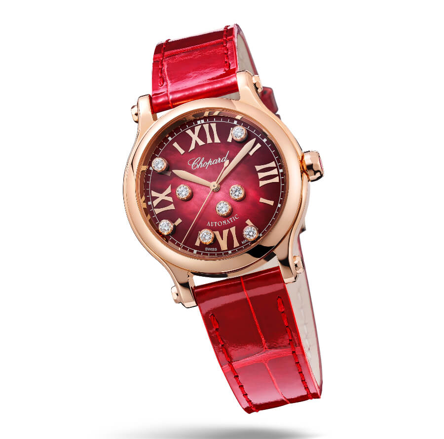 Chopard Happy Sport in ethical 18-carat rose gold Watch Review