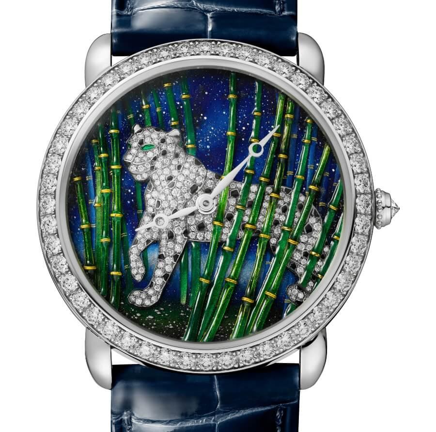 Cartier Ronde Louis Cartier Enamel Filigree Watch Review