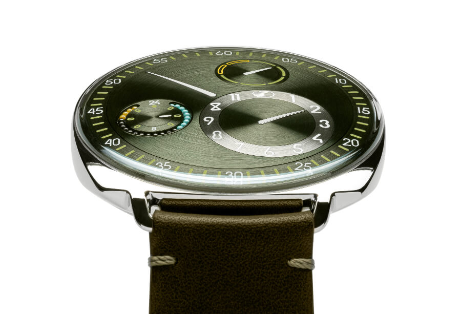Ressence Type 1 Squared X Green Dial Watch