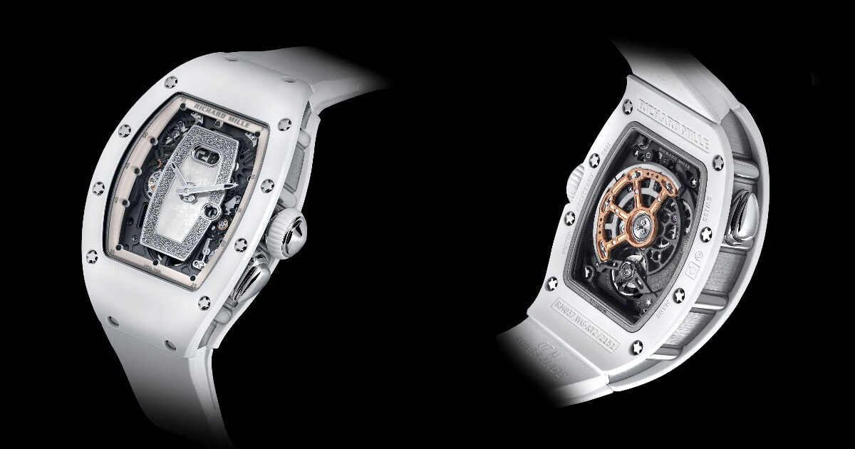 Richard Mille RM 037 White Ceramic Automatic (Price and Pictures)