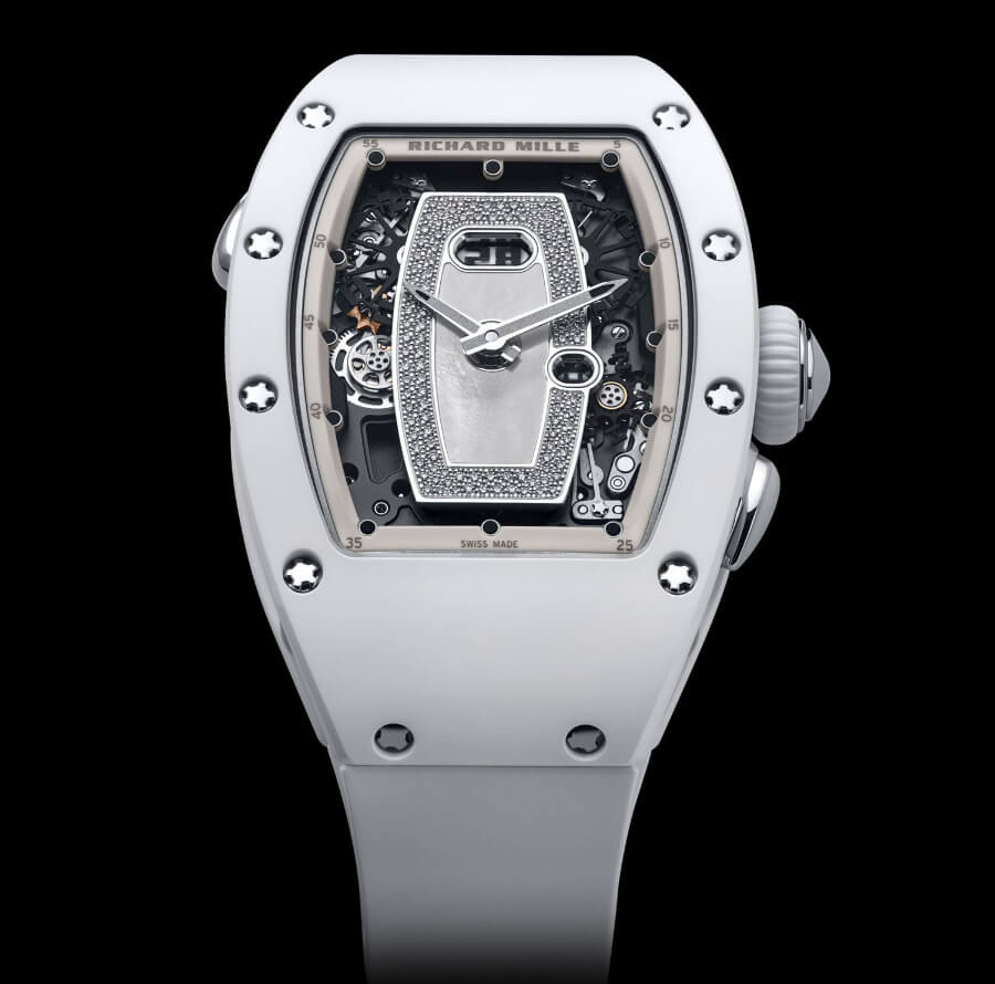 The New Richard Mille RM 037 White Ceramic Automatic