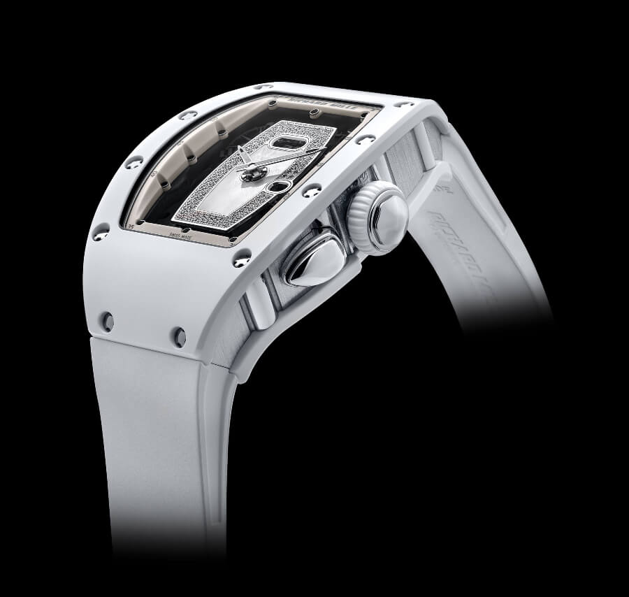 Richard Mille RM 037 White Ceramic Automatic Watch