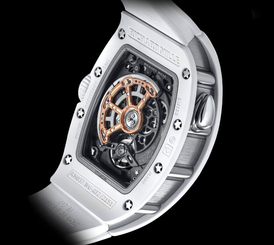 Richard Mille RM 037 White Ceramic Automatic In House Movement