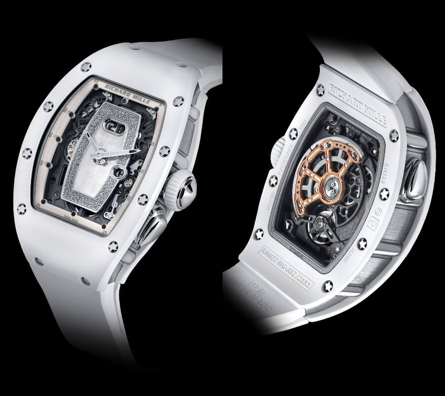 Richard Mille RM 037 White Ceramic Automatic Watch Review