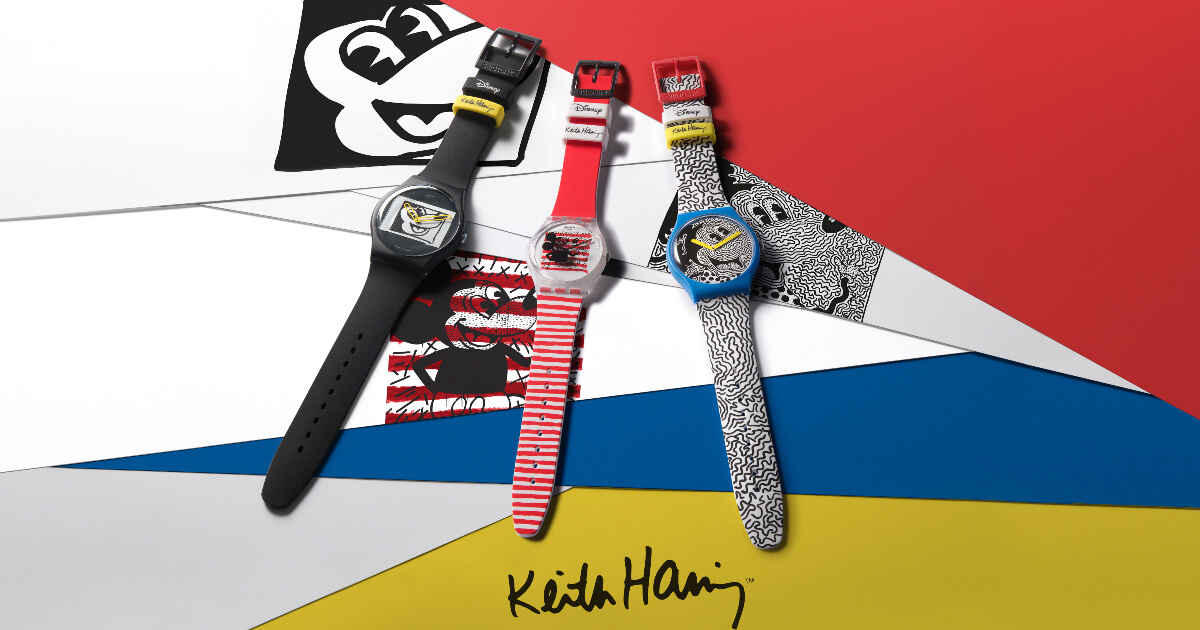 Swatch Disney Mickey Mouse X Keith Haring Collection (Price, Pictures and Specifications)
