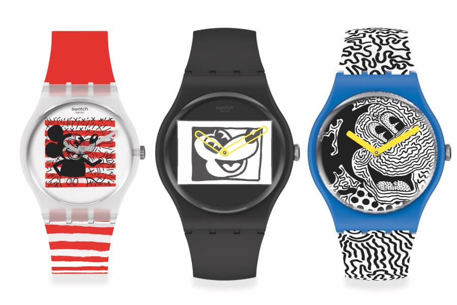 Swatch Disney Mickey Mouse X Keith Haring Collection