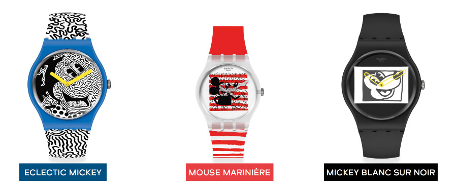 The New Swatch Disney Mickey Mouse X Keith Haring Collection