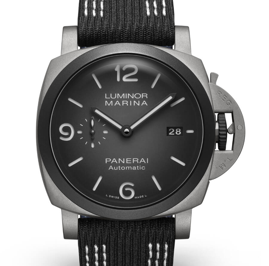 The New Panerai Luminor Marina 44MM Guillaume Néry Edition PAM01122