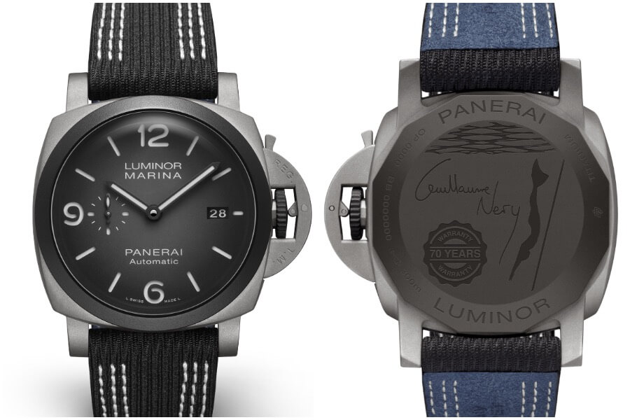 Panerai Luminor Marina 44MM Guillaume Néry Edition PAM01122 Review