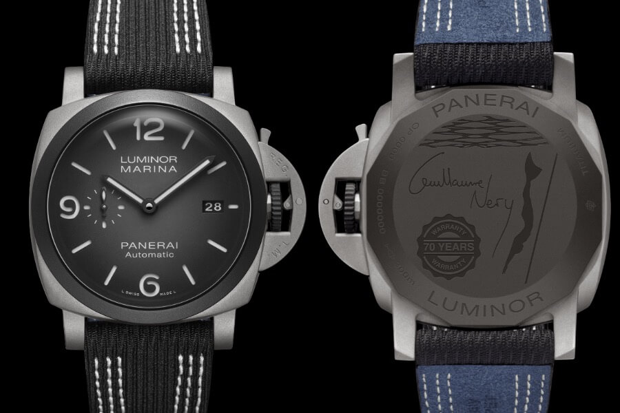 Panerai Luminor Marina 44MM Guillaume Néry Edition PAM01122  Watch Review