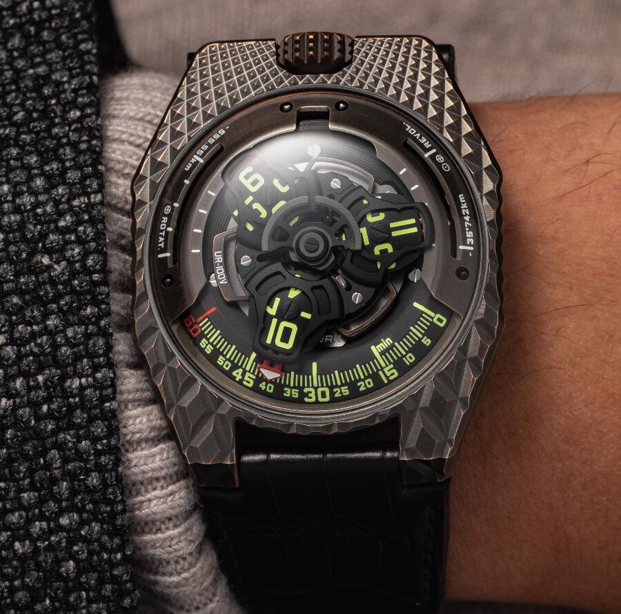 Urwerk UR-100V T-Rex Watch Review