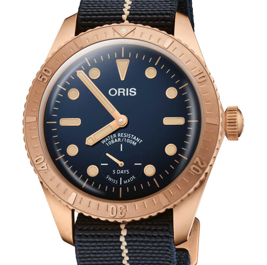 The New Oris Carl Brashear Cal. 401 Limited Edition
