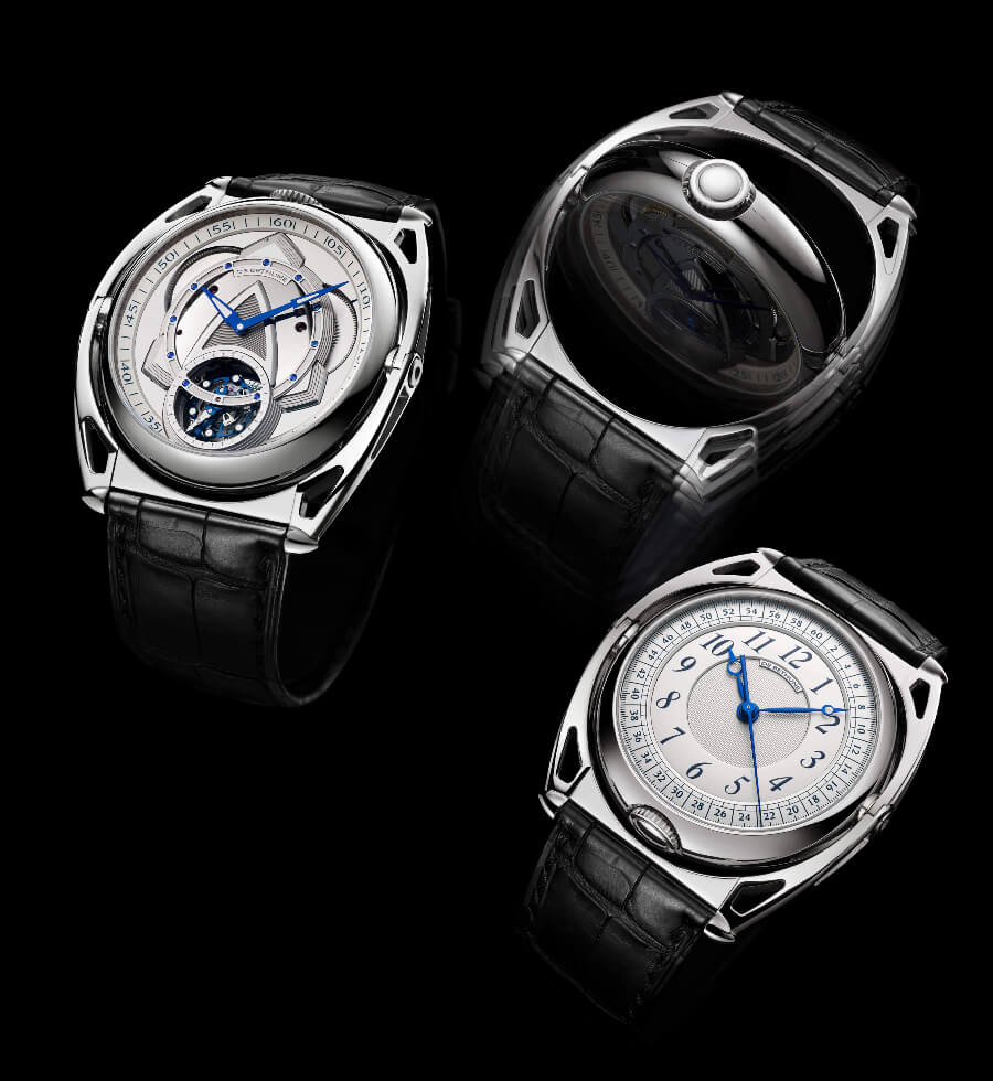 Men Watches De Bethune DB Kind of Two Tourbillon