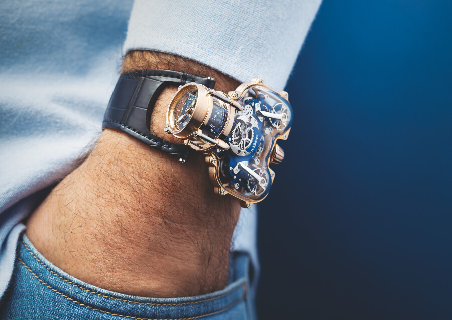 Watch Review MB&F HM9 Sapphire Vision