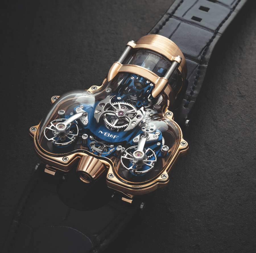 MB&F HM9 Sapphire Vision Watch Hands On