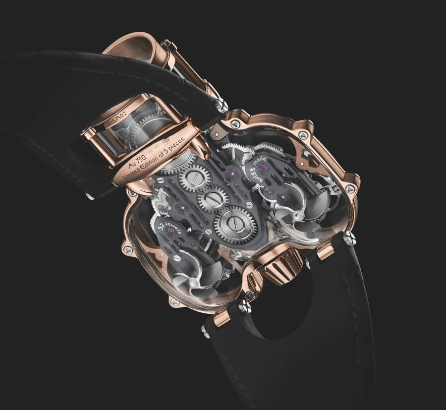 MB&F HM9 Sapphire Vision In House Movement
