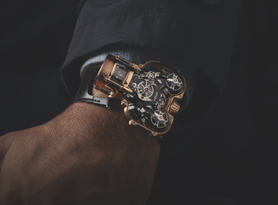 Review The MB&F HM9 Sapphire Vision