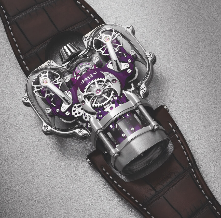 MB&F HM9 Sapphire Vision review