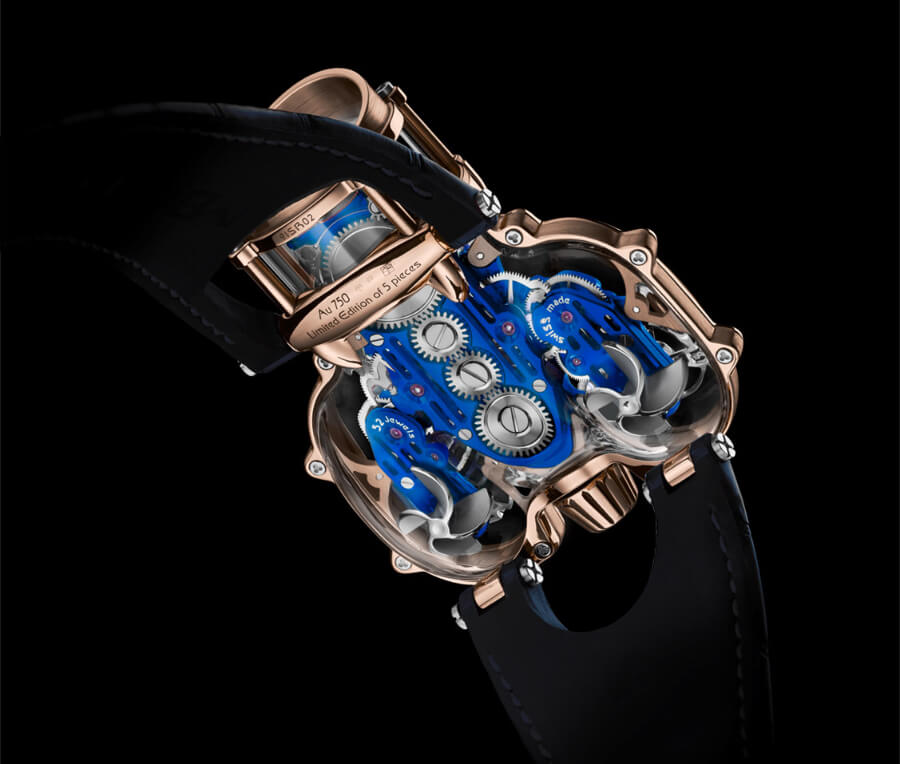 MB&F HM9 Sapphire Vision Watch movement