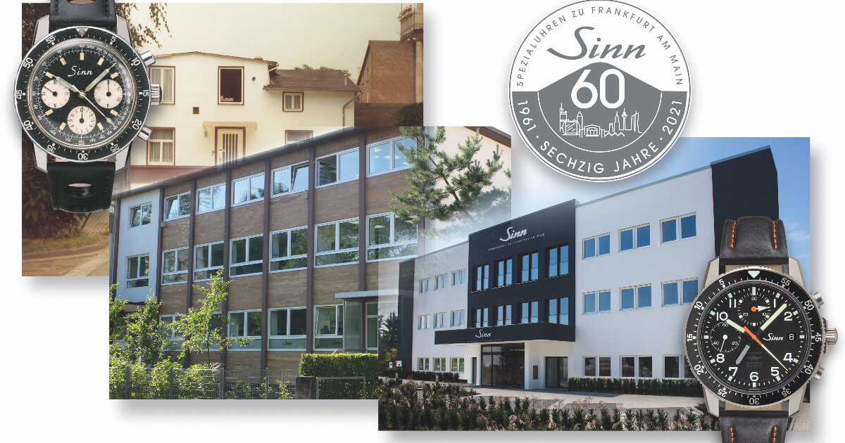 Sinn Spezialuhren Celebrates Its 60th Anniversary
