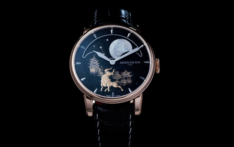 """The New Arnold & Son Perpetual Moon """"Year of the Ox"""""""