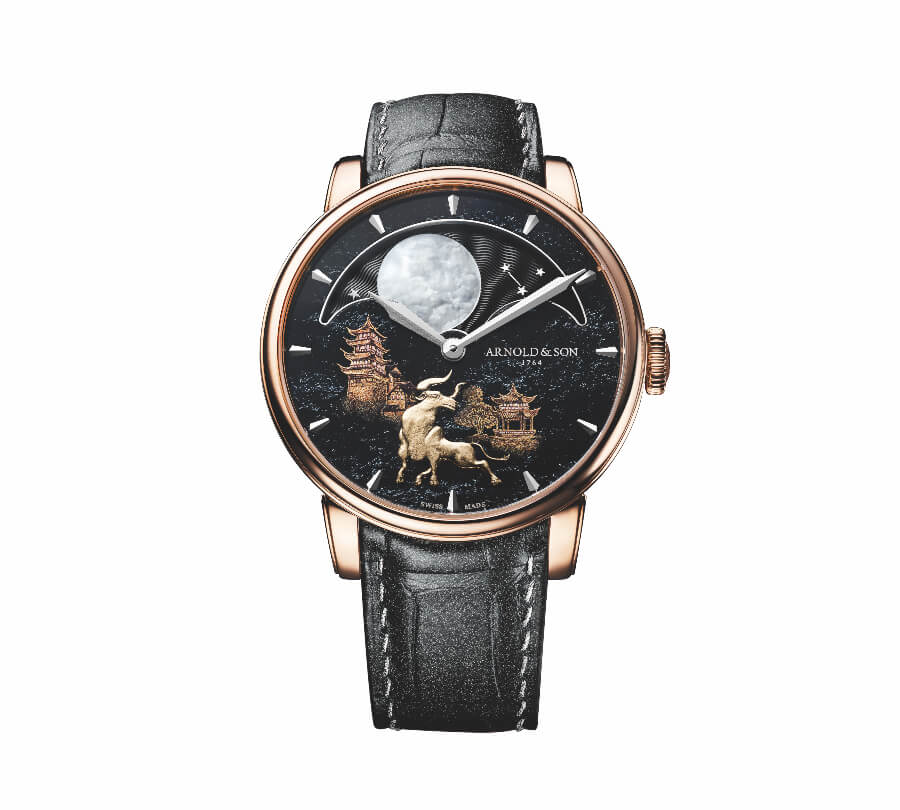 """Arnold & Son Perpetual Moon """"Year of the Ox"""" Ref. 1GLAR.Z02A.C161A"""