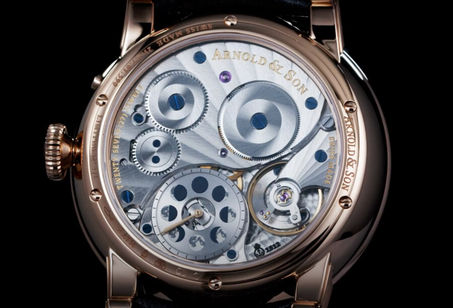 """Arnold & Son Perpetual Moon """"Year of the Ox"""" In House Movement"""