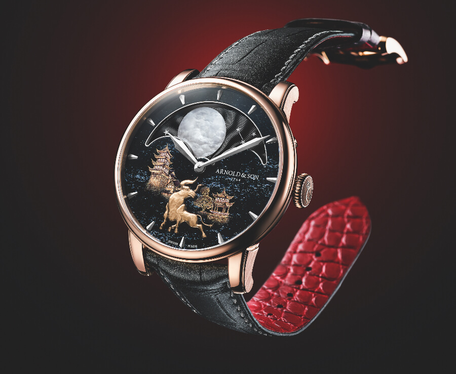 """Arnold & Son Perpetual Moon """"Year of the Ox"""" Watch Review"""