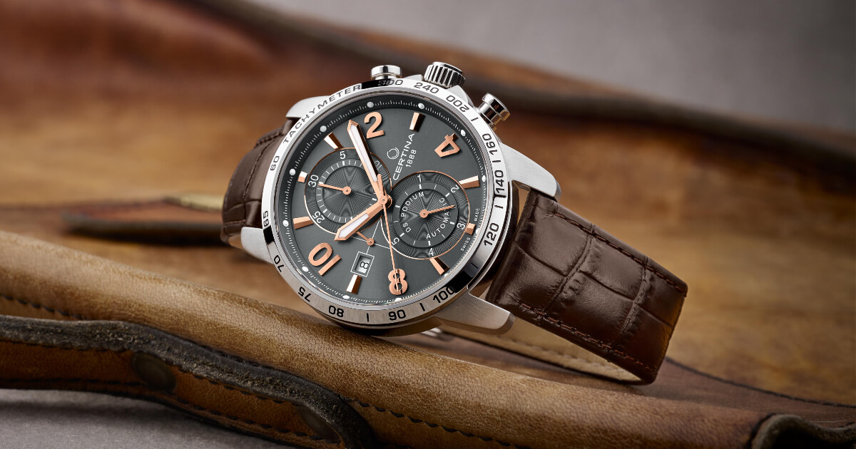 Certina DS Podium Chronograph Automatic (Price, Pictures and Specifications)