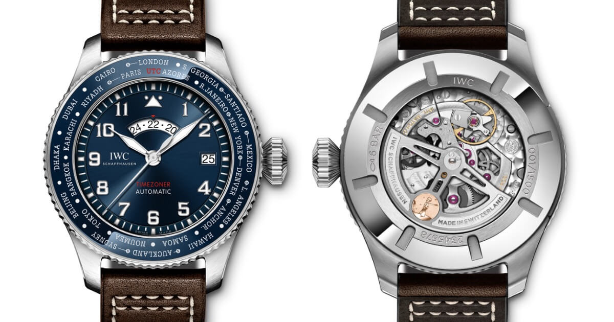 """IWC Pilot's Watch Timezoner Edition """"Le Petit Prince"""" Ref. IW395503 (Price, Pictures and Specifications)"""