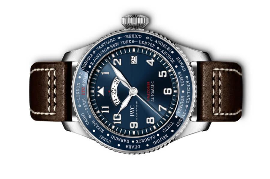 "IWC Pilot's Watch Timezoner Edition ""Le Petit Prince"" Ref. IW395503 Blue dial Watch"