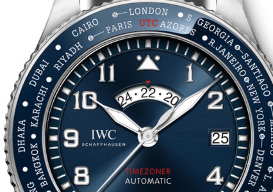 """IWC Pilot's Watch Timezoner Edition """"Le Petit Prince"""" Blue Dial"""