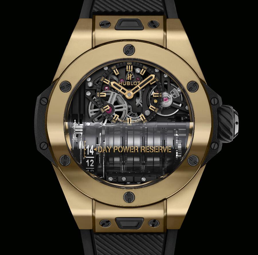 The New Hublot Big Bang MP-11 Magic Gold