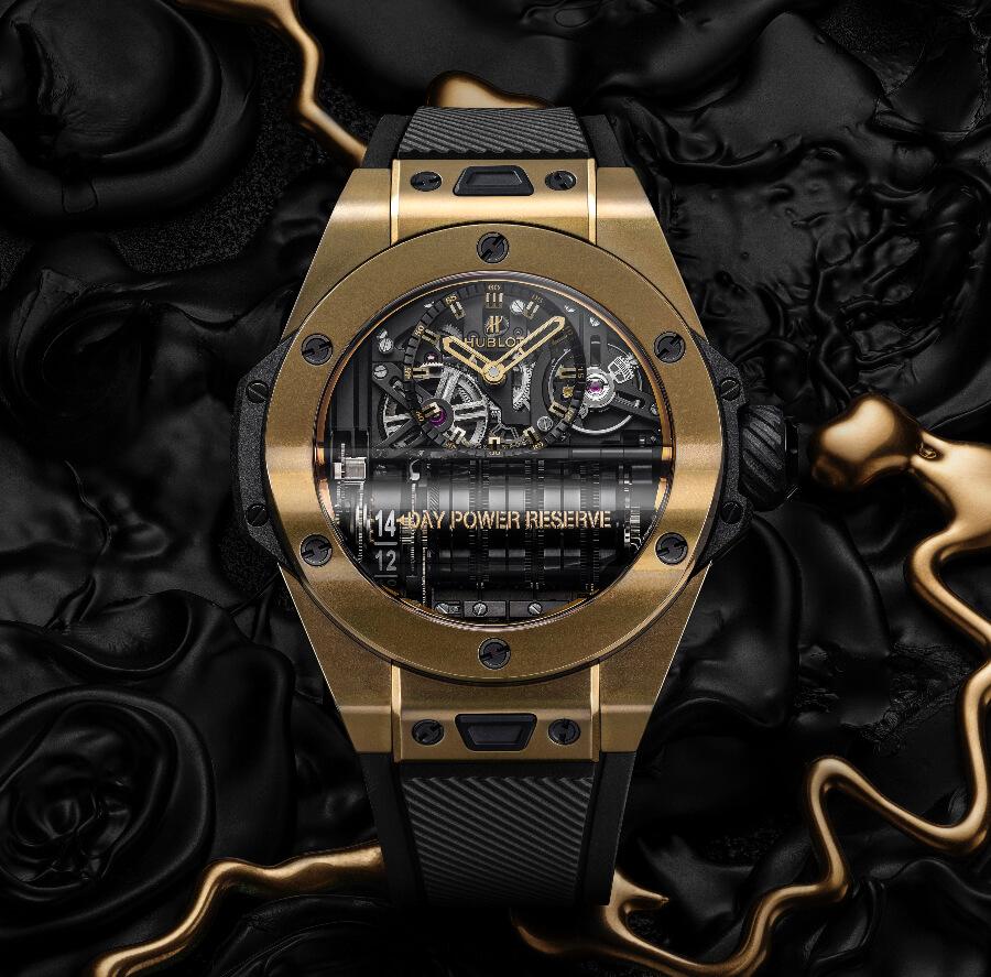 Review Hublot Big Bang MP-11 Magic Gold