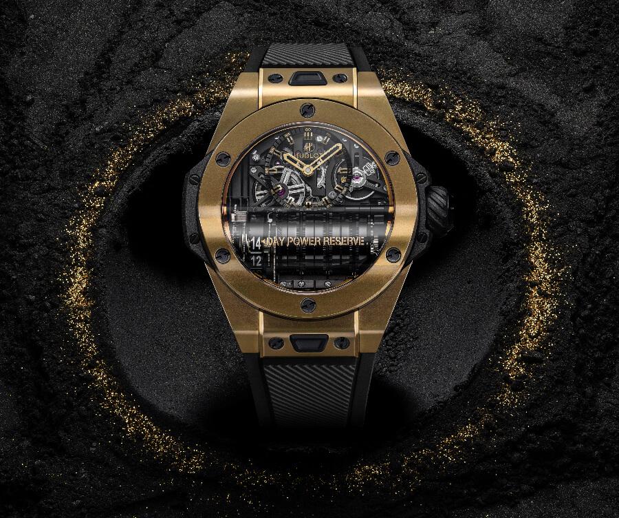 Men Watches Hublot Big Bang MP-11 Magic Gold Ref. 911.MX.0138.RX