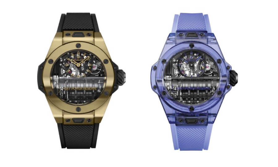 Hublot Big Bang MP-11 Magic Gold & Blue Sapphire