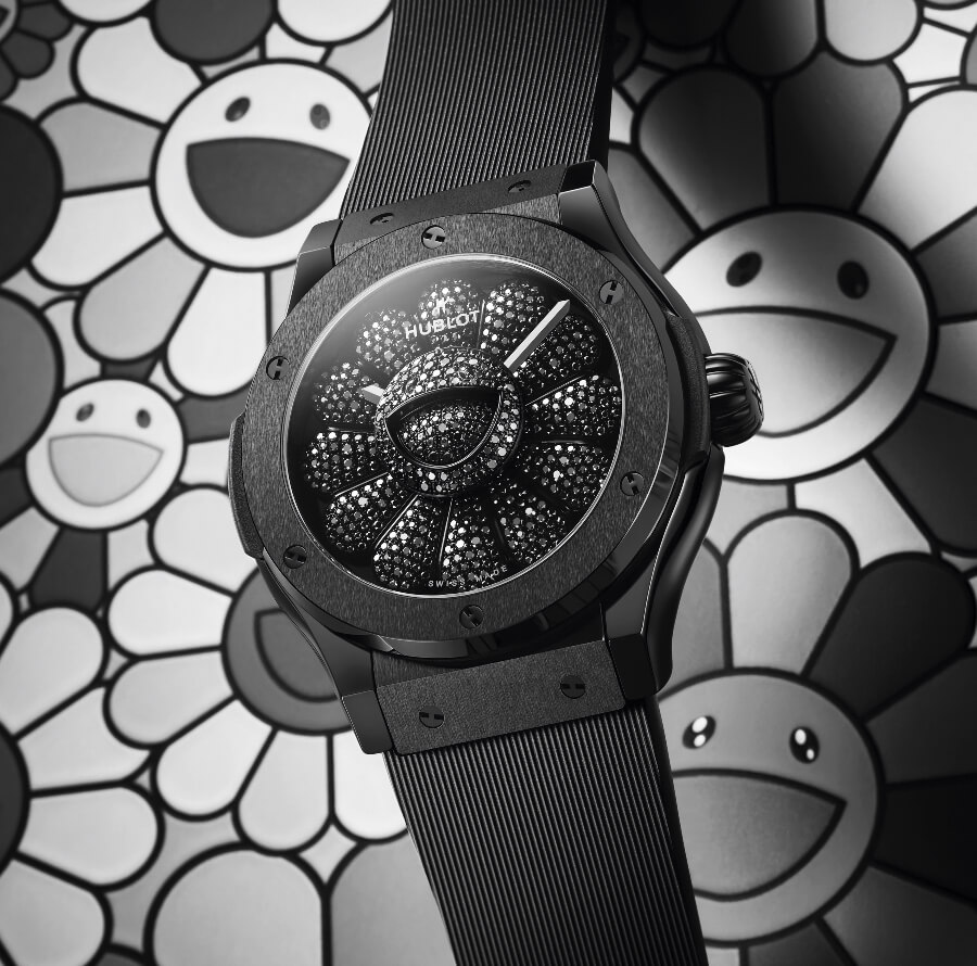 Hublot Classic Fusion Takashi Murakami All Black Watch Review