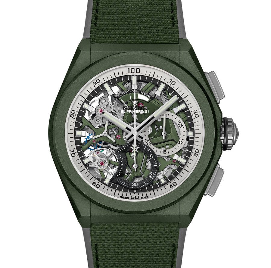 The New Zenith Defy 21 Urban Jungle