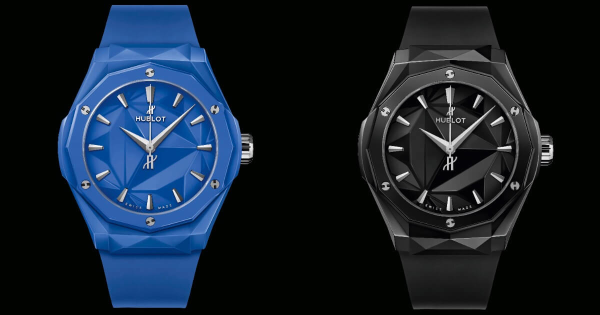 Hublot Classic Fusion Orlinski 40 MM Blue Ceramic and Classic Fusion Orlinski 40 MM Black Magic (Price, Pictures and Specifications)