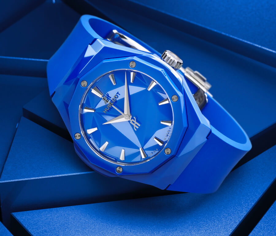 Hublot Classic Fusion Orlinski 40mm Blue Ceramic