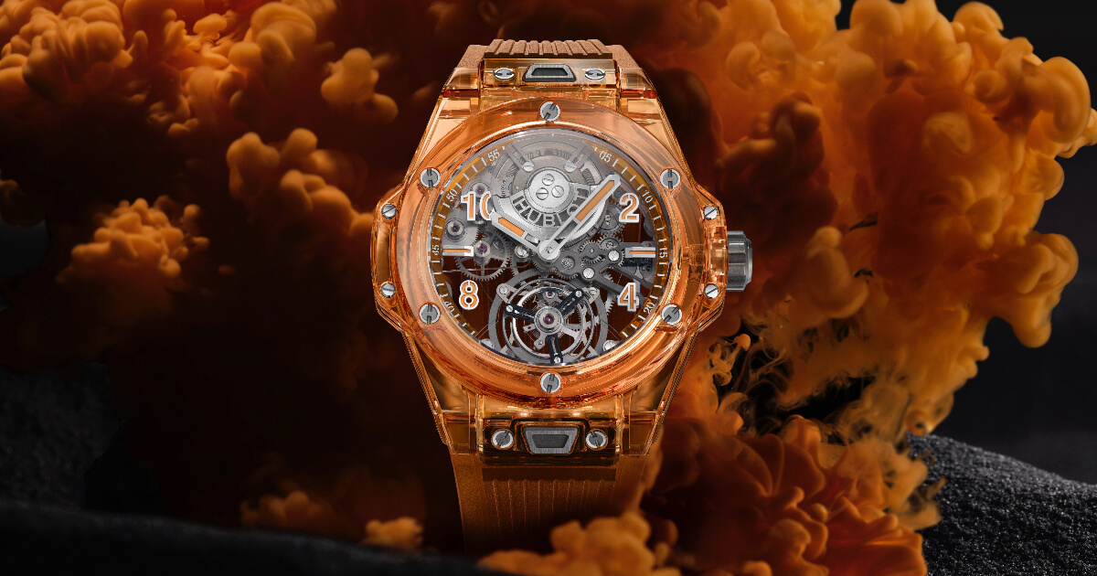 Hublot Big Bang Tourbillon Automatic Orange Sapphire (Price, Pictures and Specifications)