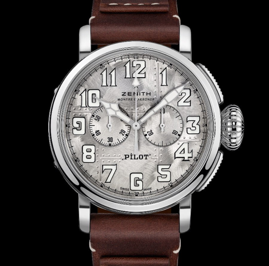 The New Zenith Pilot Type 20 Silver Chronograph