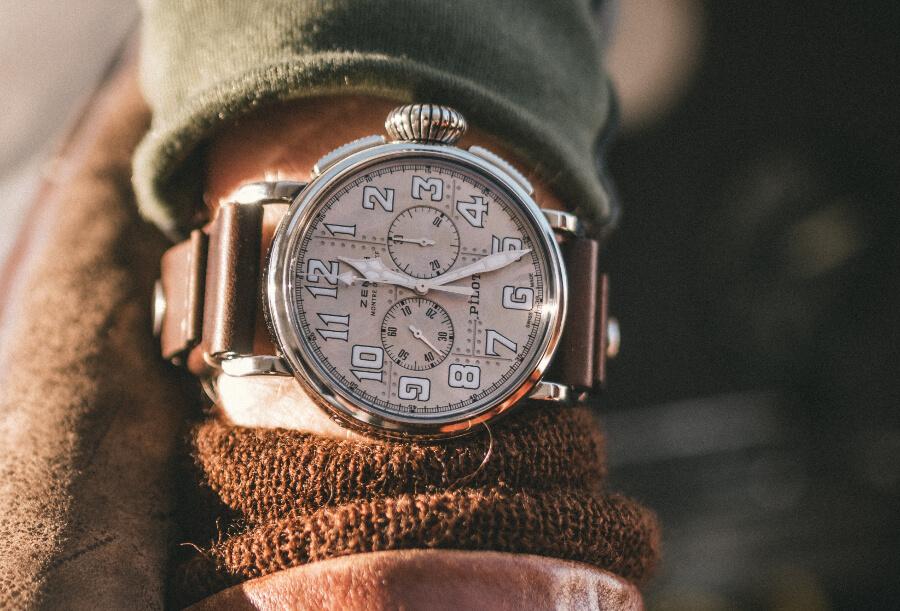 Zenith Pilot Type 20 Silver Chronograph Watch Review