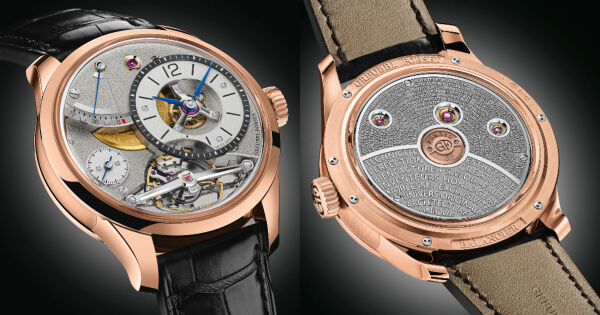 Greubel Forsey Balancier Contemporain In 5N Red Gold (Price, Pictures and Specifications)