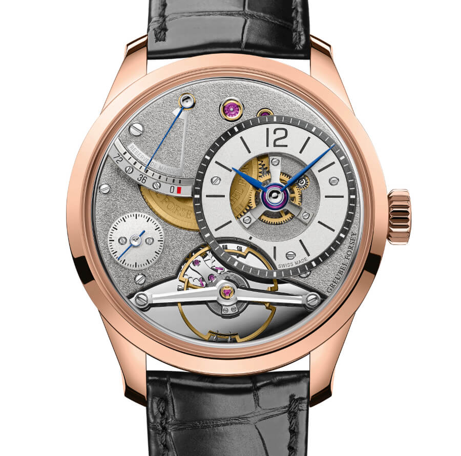 The New Greubel Forsey Balancier Contemporain In 5N Red Gold