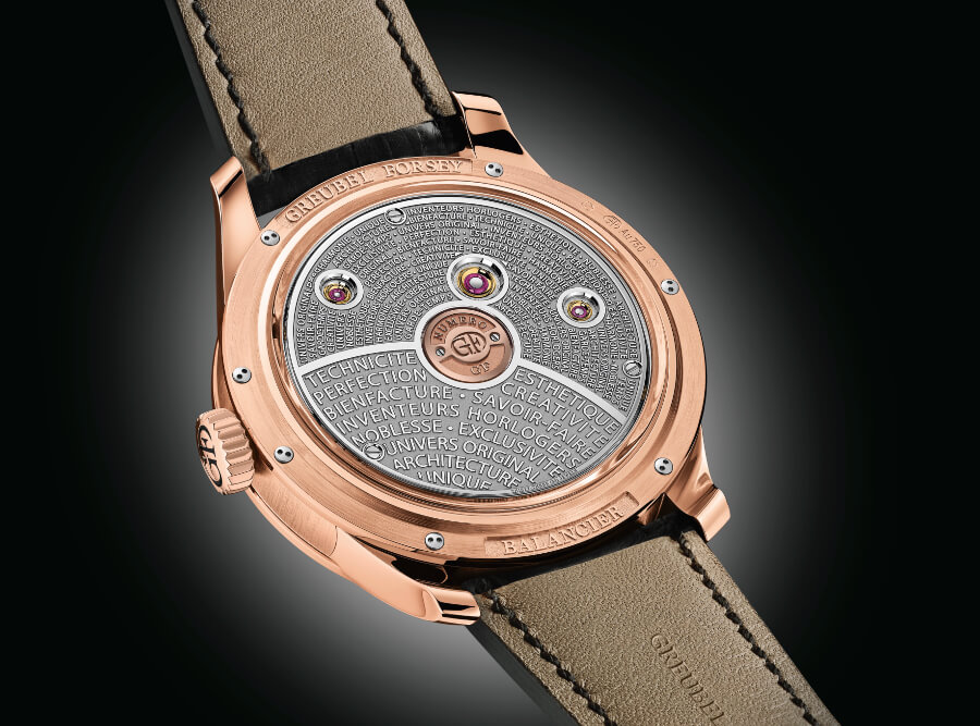 Greubel Forsey Balancier Contemporain In 5N Red Gold In House Movement