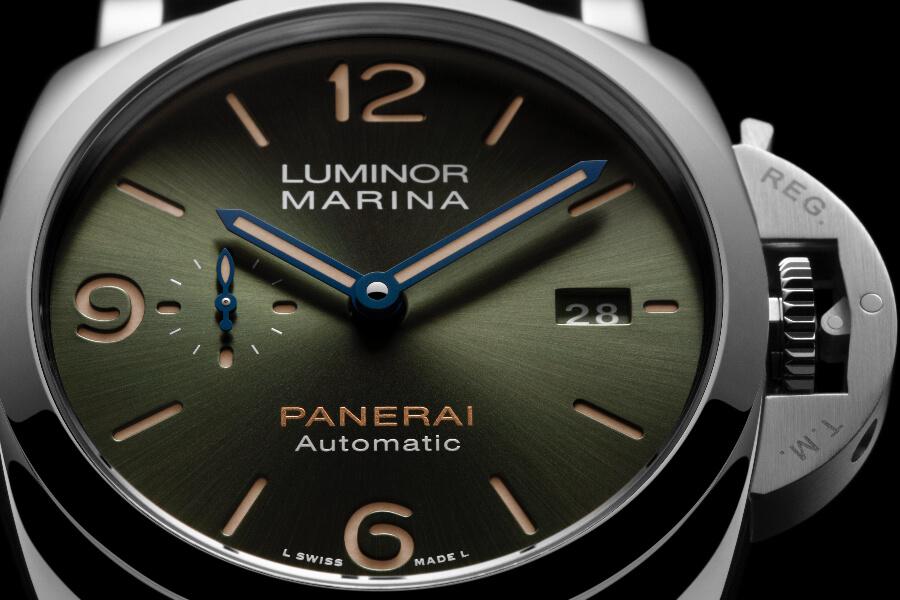 Panerai Platinumtec Luminor Marina Green Dial