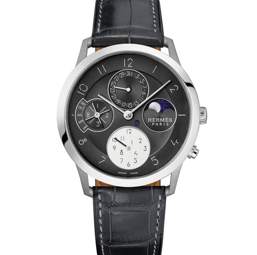 Hermes Slim d'Hermès Perpetual Calendar In Titanium Review