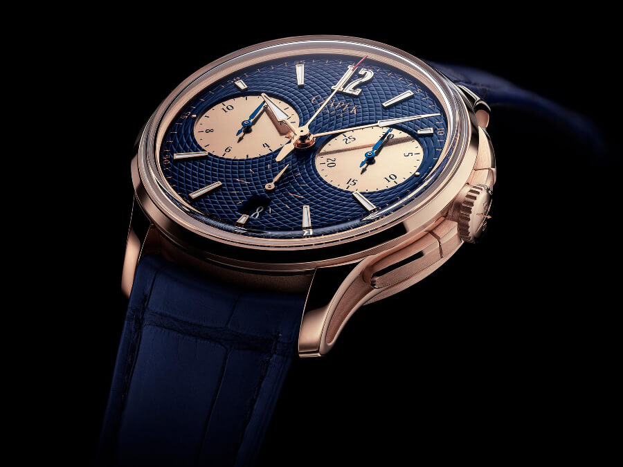 Czapek & Cie Faubourg De Cracovie Océan d'Or  5N Rose Gold Wach