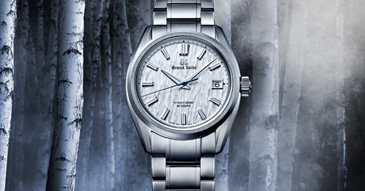 "Grand Seiko Heritage Hi-Beat ""White Birch"" SLGH005 (Price, Pictures and Specifications)"